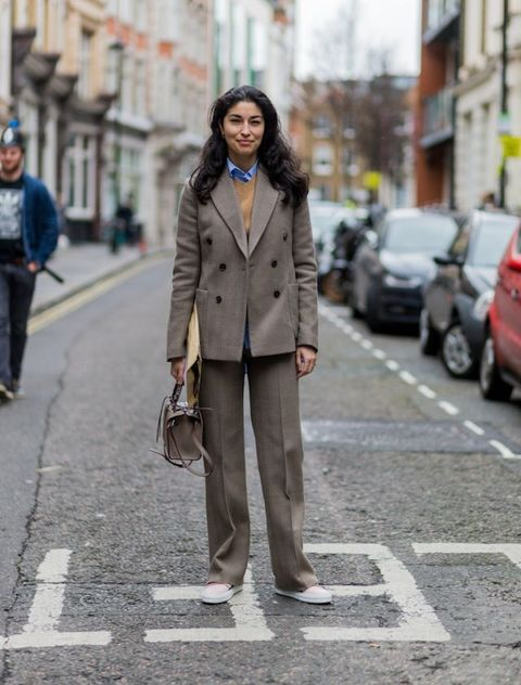 Street style inspiration: suits | ELLE UK