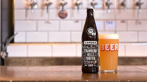 Camden Town Brewery, London  offering free craft beer