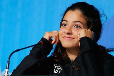 Yusra Mardini is competing for Germany, Rio 2016 Olympics | ELLE UK