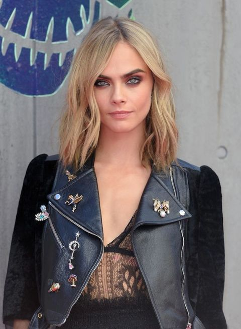 Cara Delevingne at Suicide Squad London premiere | ELLE UK
