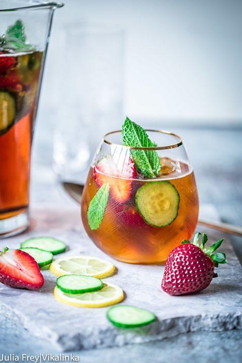 Liquid, Drink, Food, Produce, Tableware, Fluid, Ingredient, Natural foods, Fruit, Cocktail garnish,