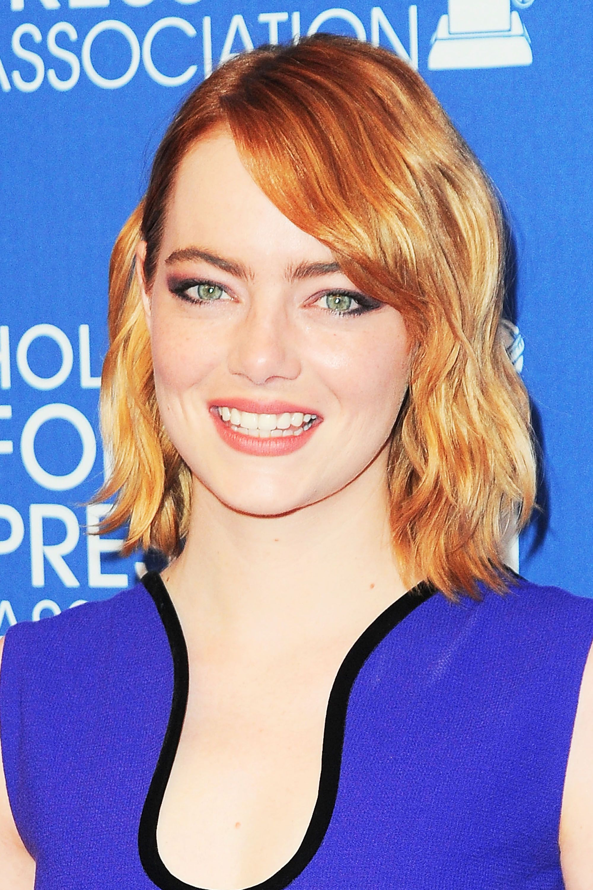 <p>Redheads aren't left out of the ombré trend. Take a page from Emma Stone's book with her soft gradation from deep red at her roots to strawberry blonde at the ends. </p>