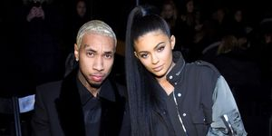 Kylie Jenner and Tyga at Alexander Wang front row | ELLE UK