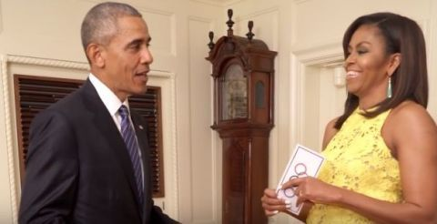 President Obama and Michelle Obama's Olympics video, The White House | ELLE UK