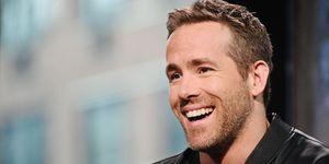 Ryan Reynolds at press conference | ELLE UK