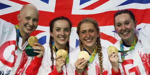 87c502debfd Laura Trott Becomes First British Female Olympian To Win Three Gold ...