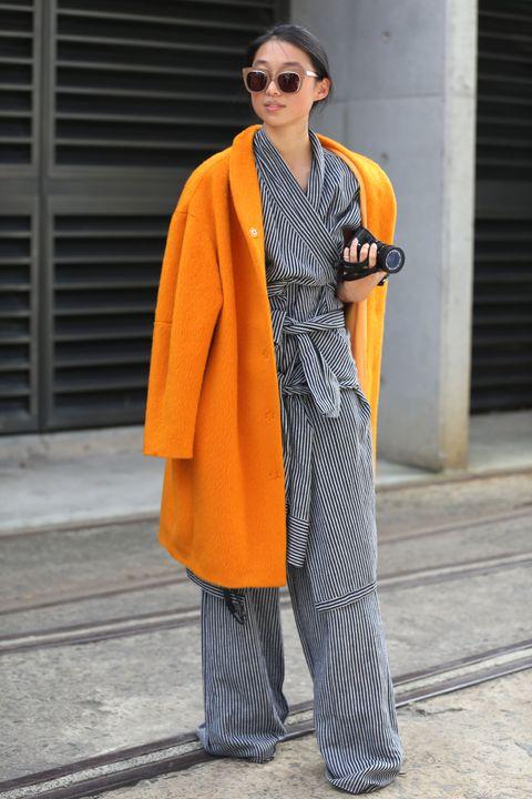 Pyjama Stripe Street Style 2016