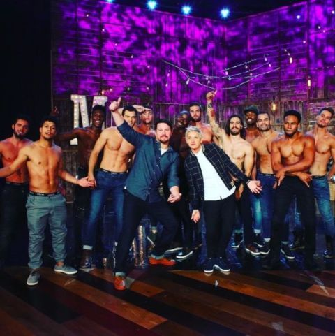 Channing Tatum on The Ellen Show, August 2016
