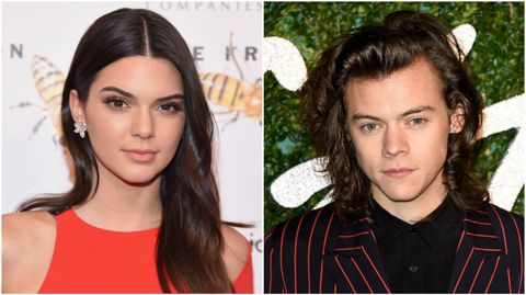 Kendall Jenner and Harry Styles   ELLE UK