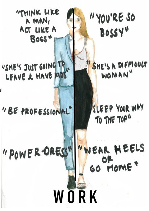 Illustrator Depicts Contradictory Advice Women Are Told By Society
