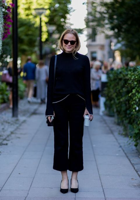 How To Wear Head-To-Toe Black | ELLE UK