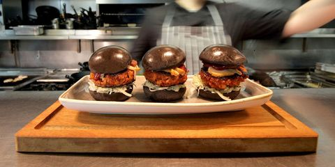 The Slider Decider competition, Broadgate Circle, London