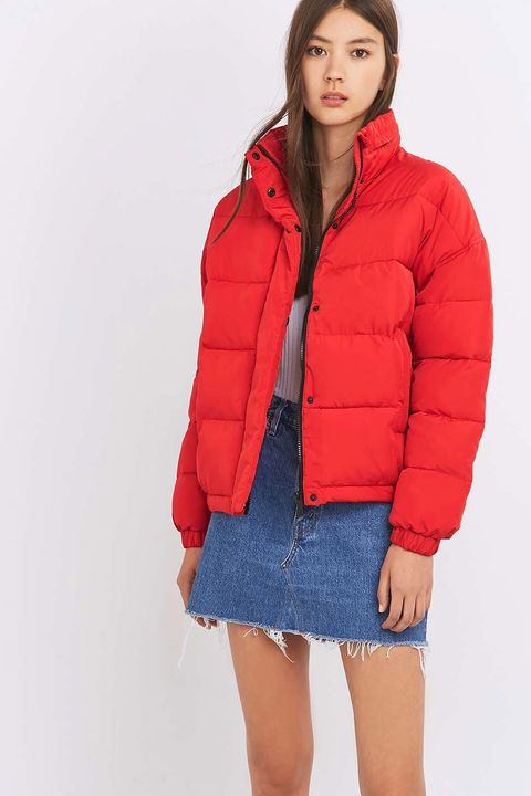 "<p>Red Puffer, £76, <a href=""http://www.urbanoutfitters.com/uk/catalog/productdetail.jsp?id=5133391018270&category=WOMENS-COATS-JACKETS-EU"" target=""_blank"">Light Before Dark</a></p>"