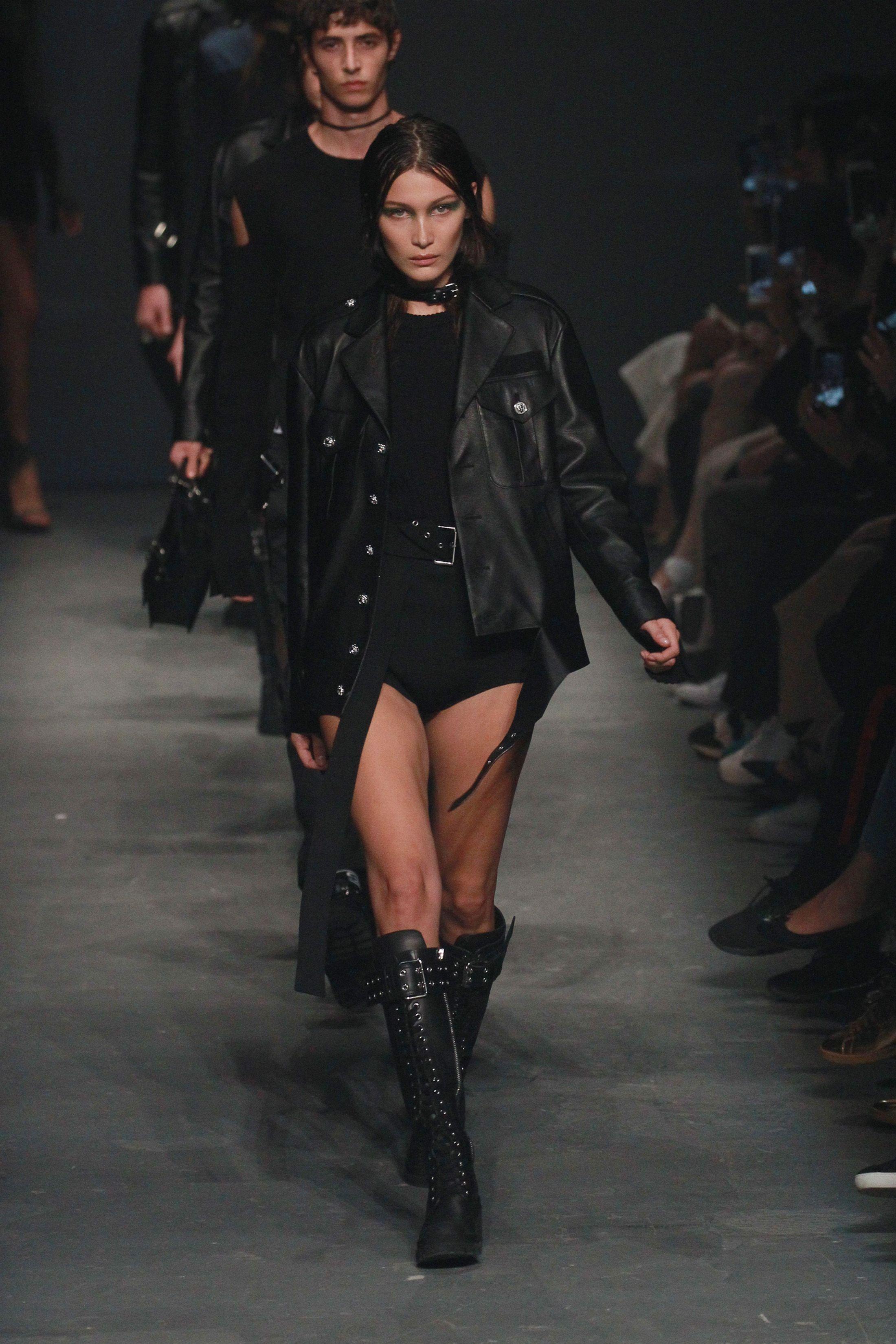 Bella Hadid for Versus Versace, London Fashion Week SS17