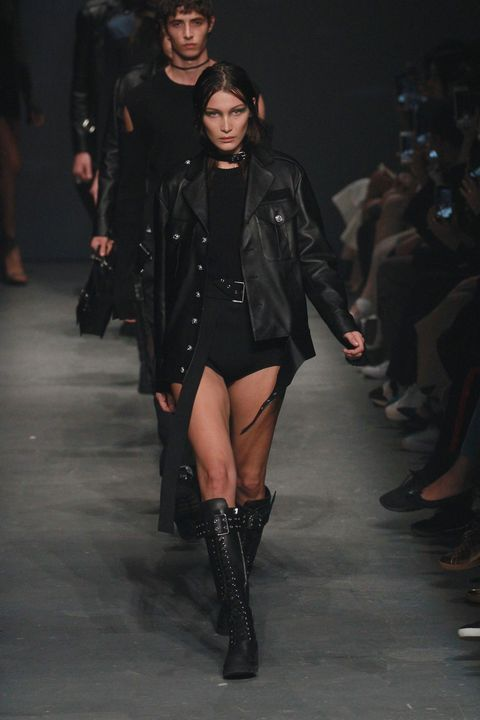 Bella Hadid for Versus Versace, London Fashion Week SS17