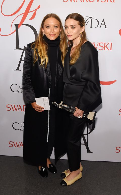 Mary-Kate Olsen and Ashley Olsen at the 2015 CFDA Fashion Awards in New York, June 2015