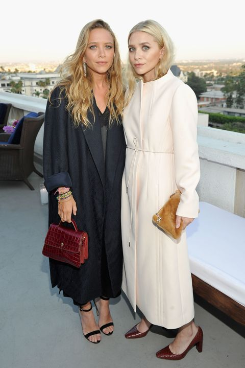 Mary-Kate Olsen and Ashley Olsen attend Elizabeth and James Flagship Store Opening Celebration