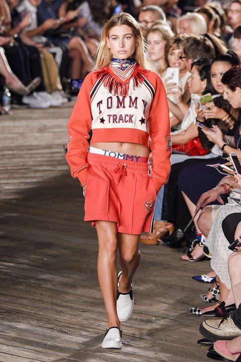 24aea6c0 Hailey Baldwin for Tommy Hilfiger, New York Fashion Week SS17