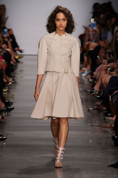Zac Posen at New York Fashion Week Spring Summer 2017