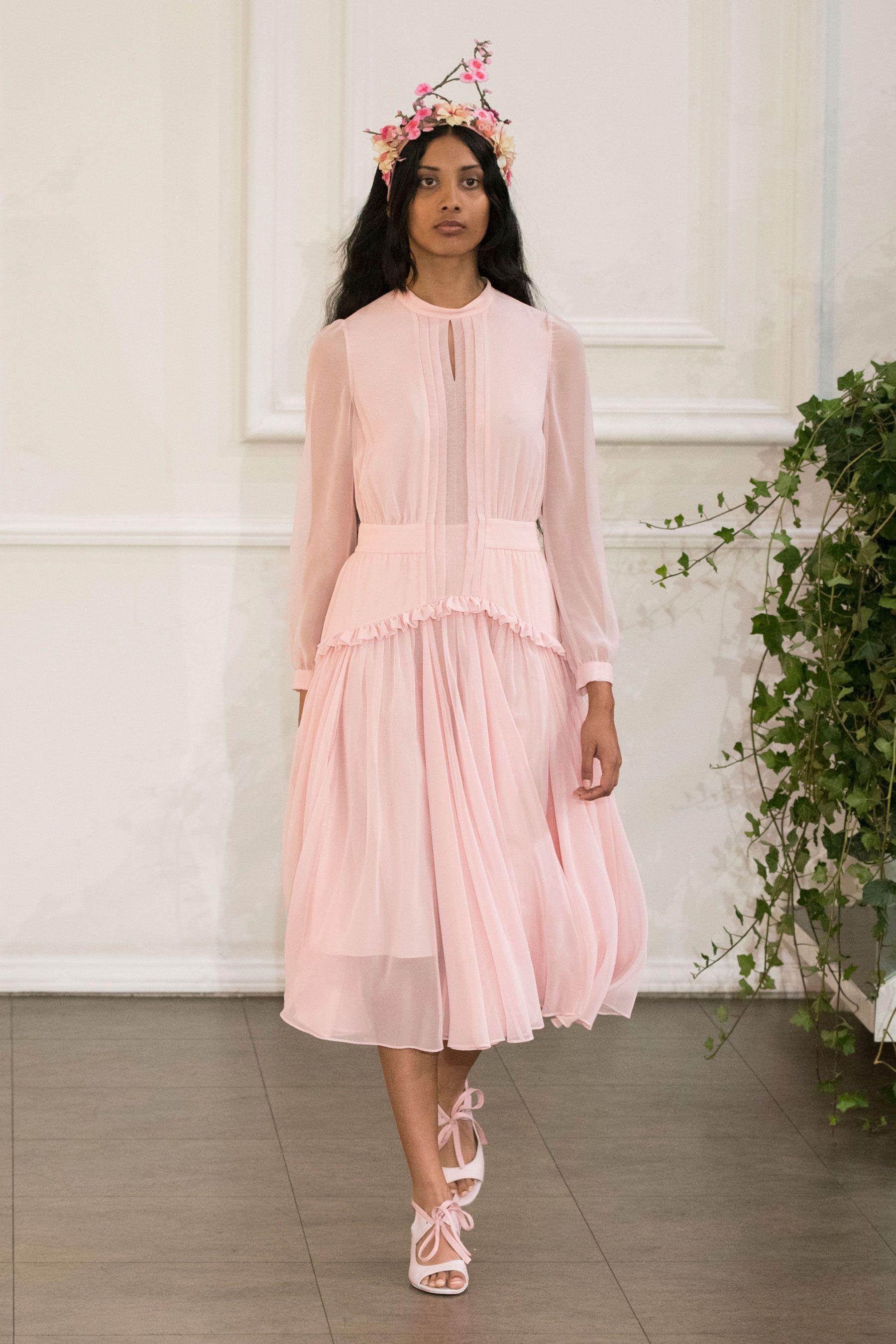 Bora Aksu SS17 London Fashion Week