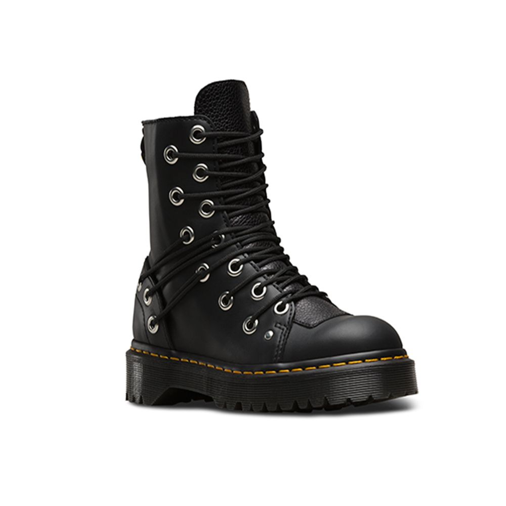 """<p>The off-beat choice from the masters of chunky boots.£135, <a href=""""http://www.drmartens.com/uk/p/womens-boots-lausanne-stone-daria"""" target=""""_blank"""">Dr Martens</a></p>"""