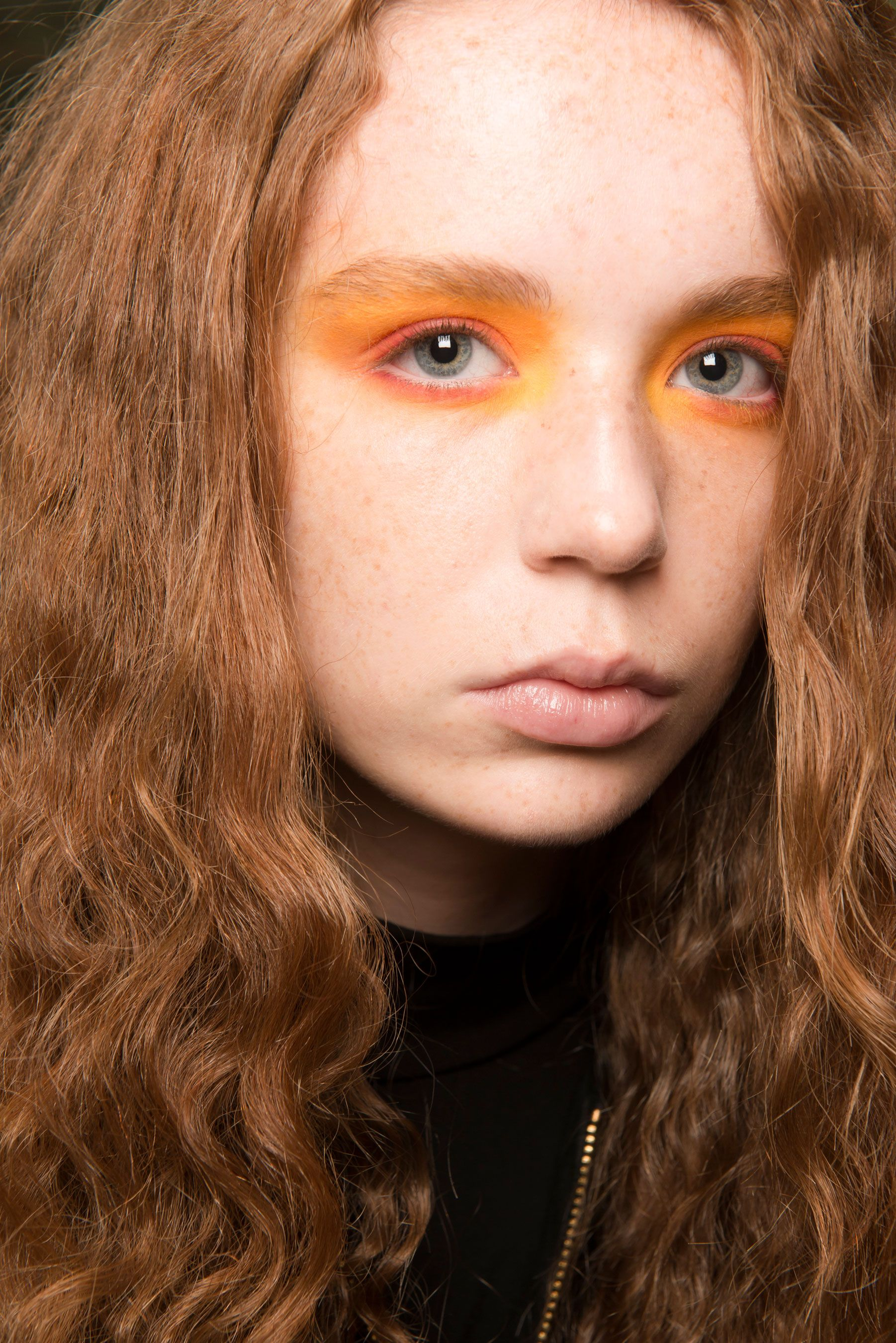 images Craziest Beauty Looks From LFW FW2015-2016