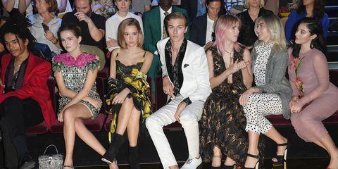 Dolce & Gabbana SS17 Front Row Milan Fashion Week