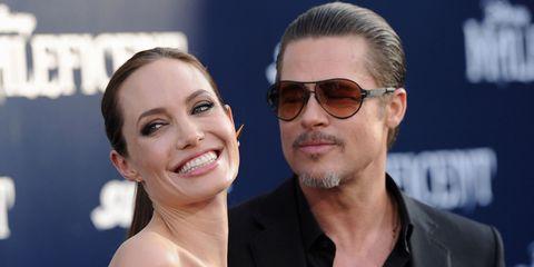 Brad Pitt and Angelina Jolie   ELLE UK