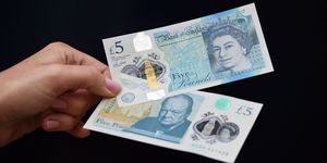 New five pound note   ELLE UK