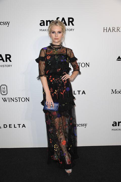 Celebrities at amfAR Milano 2016 Milan Fashion Week