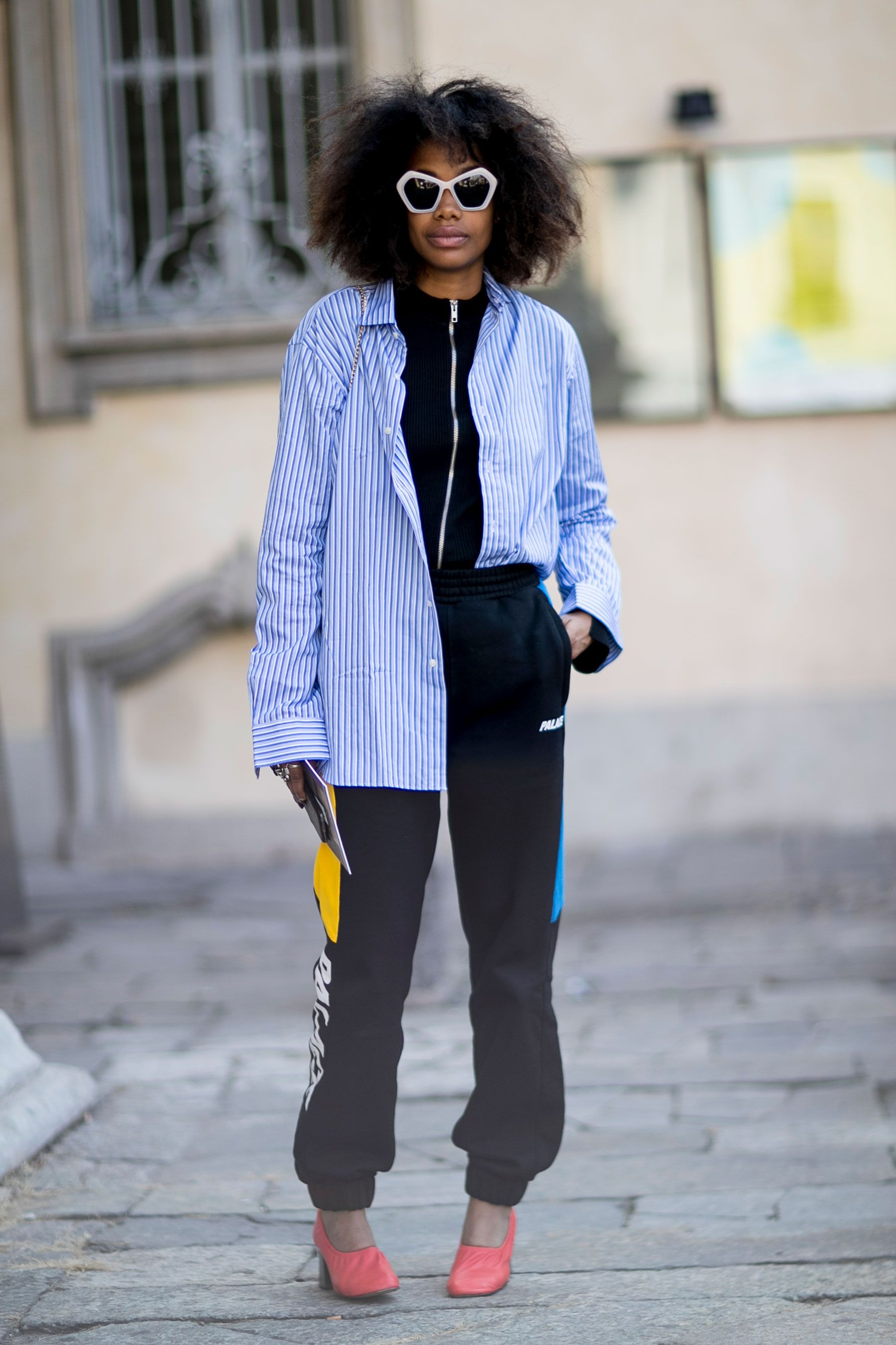 Milan Fashion Week SS17 Street Style: Day 4