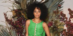 Solange Knowles at event | ELLE UK