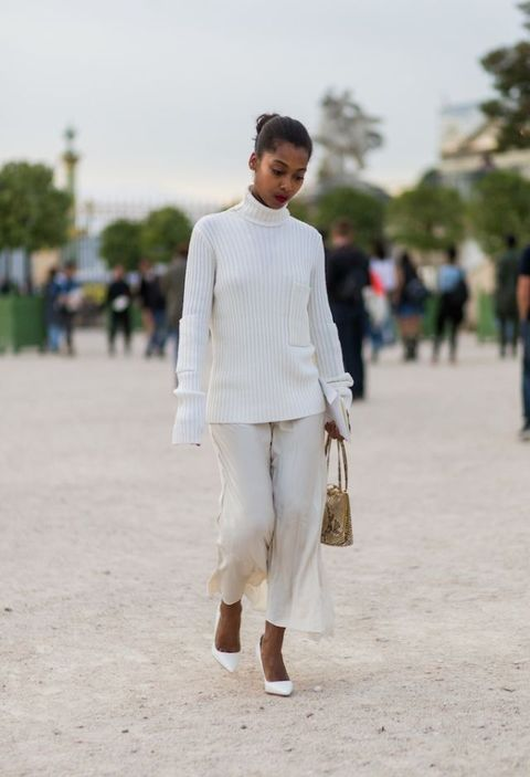 Paris Fashion Week SS17 Street Style  | ELLE UK