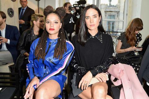 Celebrities at Paris Fashion Week SS17   ELLE UK