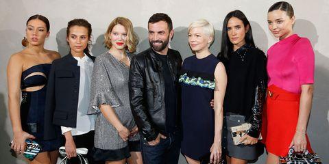 Celebrities At Louis Vuitton SS17