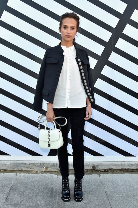 Celebrities at Paris Fashion Week SS17 | ELLE UK