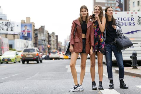 LAck of body diversity in street style fashion photography