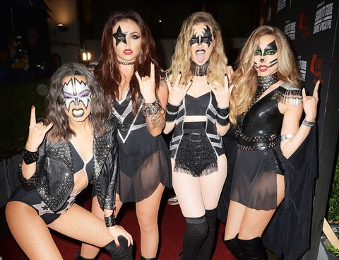 Little Mix at the KISS FM Haunted House Party | ELLE UK