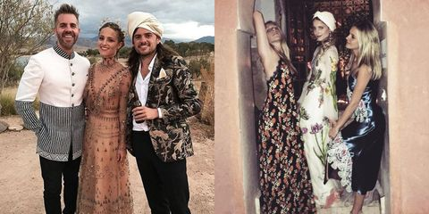 Dianna Agron Wedding.Dianna Agron Wore Dreamy Valentino And Gucci For Her Morocco