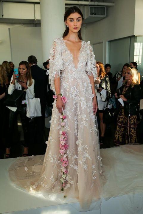Best wedding dresses from Fall 2017 Bridal Fashion Week | ELLE UK