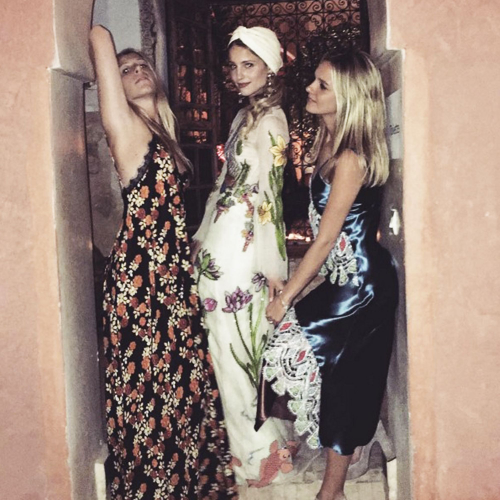 Dianna Agron Gucci and Valentino wedding dresses | ELLE UK