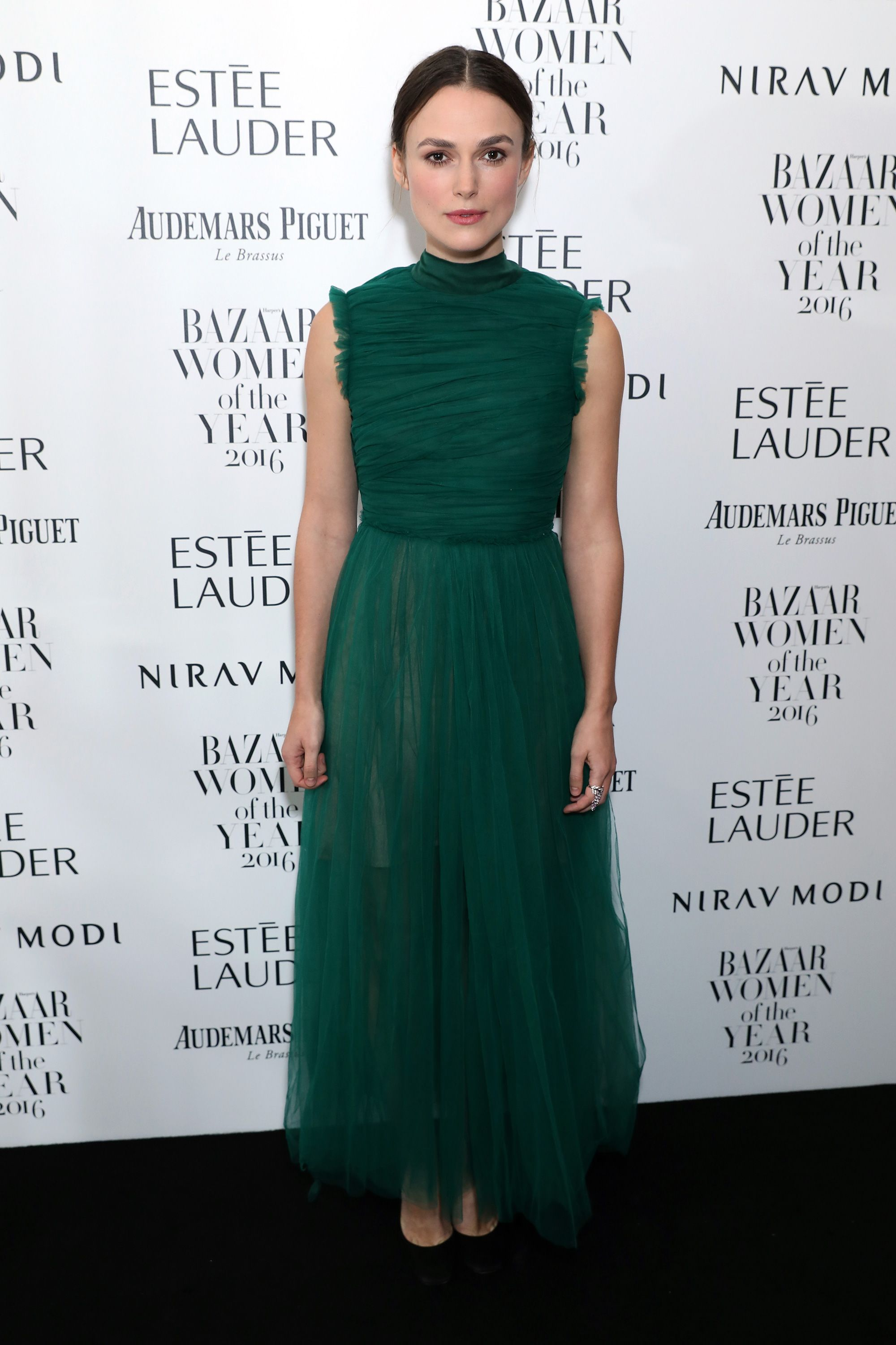 Keira Knightley at the 2016 Harper's Bazaar Women of the Year Awards