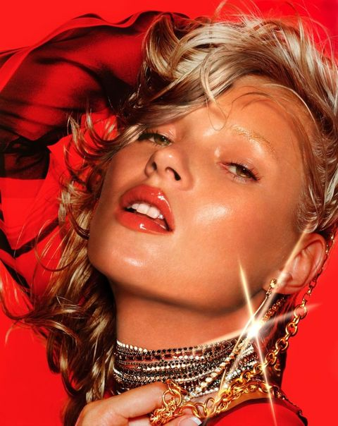 Kate Moss - Hair by Sam McKnight, Something For The Weekend