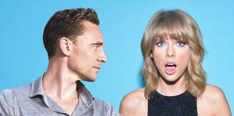 Taylor Swift and Tom Hiddleston | ELLE UK