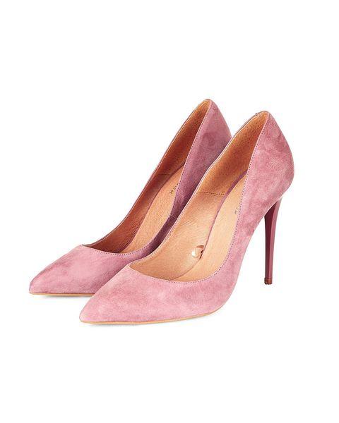 Footwear, Brown, Pink, Tan, Maroon, Beige, Basic pump, Fawn, Court shoe, High heels,