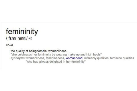 what does womanly mean