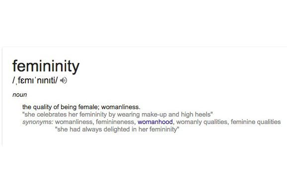 Changing the definition of femininity when voltagebd Choice Image