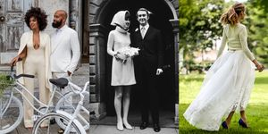 unique celebrity wedding dresses