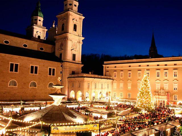 Salzburg Christmas Market.Austria S Prettiest Christmas Markets
