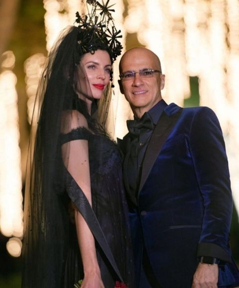 Unique Wedding Dresses - Liberty Ross black wedding dress